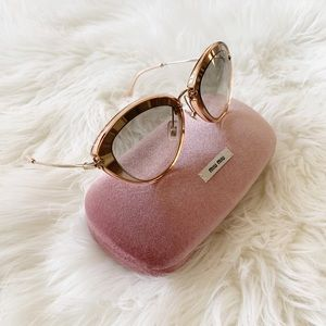 Miu Miu Sunglasses, New